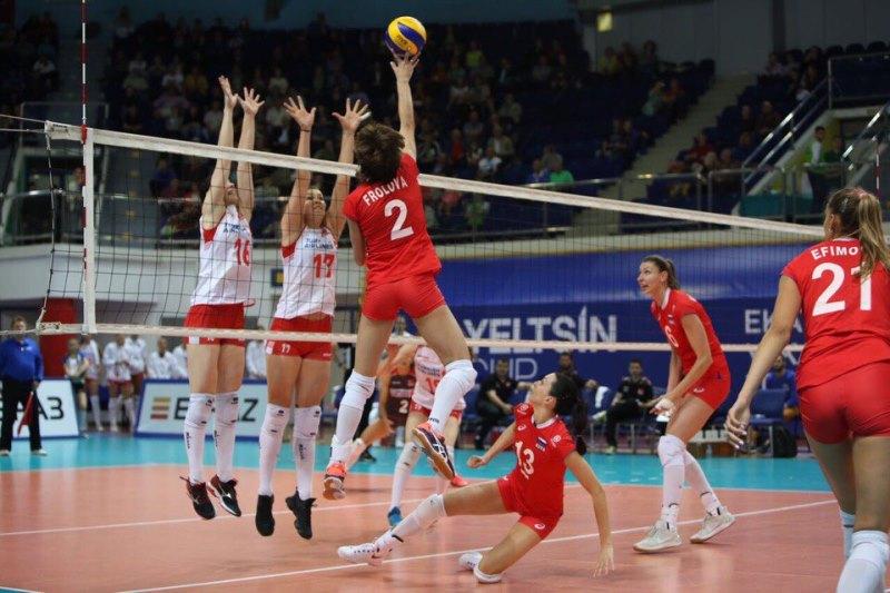 Россиянки спобеды начали Кубок Ельцина