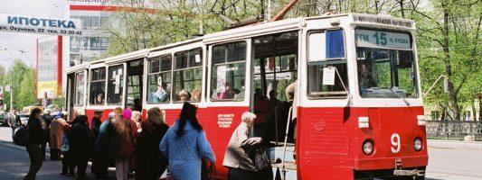 Выю оставят без трамвайного движения