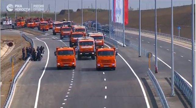 Кремль утвердил дату открытия Крымского моста