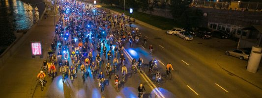 Велосипедисты проедут ночью по Нижнему Тагилу с парадом