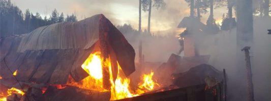 Два трупа обнаружили пожарные, прибывшие на вызовы на Тагилстрой и Черемшанку
