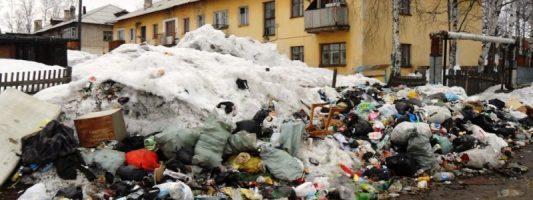Городскую управляющую компанию оштрафовали за горы гниющего мусора