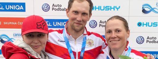 Тагильчанин Никита Губенко завоевал серебро Чемпионата мира по гребному слалому