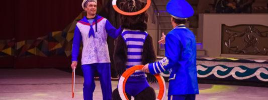 Свистать всех наверх! Цирк берёт Нижний Тагил на абордаж! Впервые на арене города спектакль, поставленный специально для тагильчан!